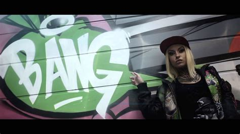 wallpaper girl swag the girl and the inscription on the wall bang swag