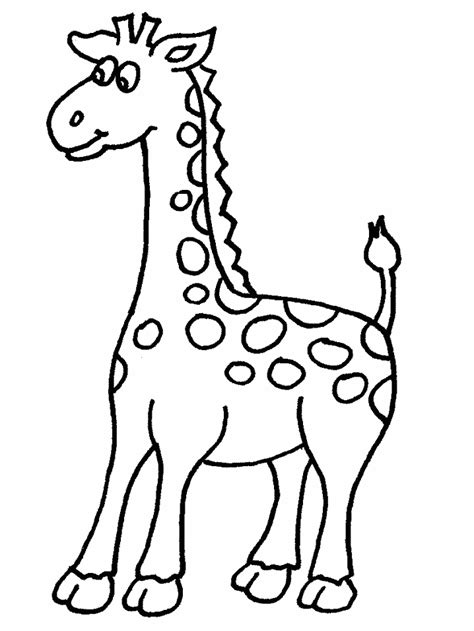 giraffe coloring pages coloring pages to print