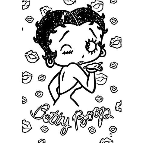 betty boop coloring pages betty boop pages coloring pages