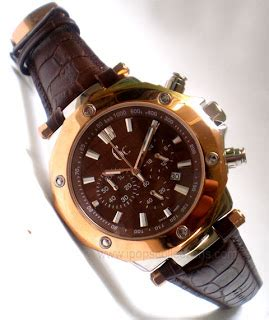 Jam Guess Collection Kulit Coklat all free jam tangan branded