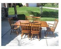 early american dining room furniture 600 set ethan allen solid wood early american style