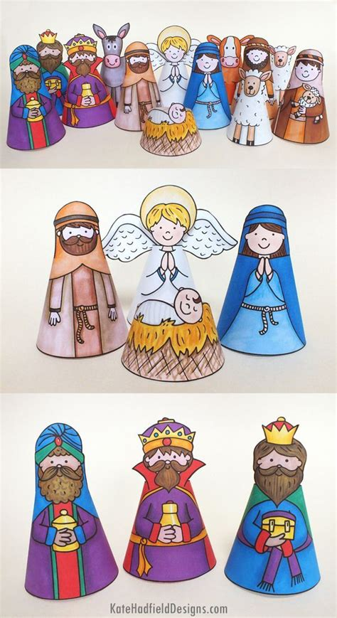 printable nativity ornaments 717 best simple nativity crafts for kids images on