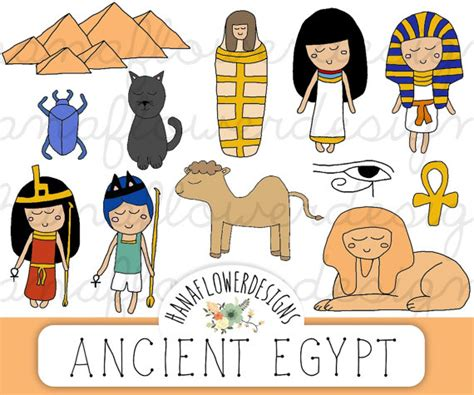 ancient egypt for kids and teachers ancient egypt for kids items similar to ancient egypt clip art quot egypt clipart