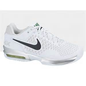 tennis shoes nike s air max cage tennis shoes white grey review