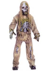 Scary Costumes For Kids Kids Skeleton Zombie Costume