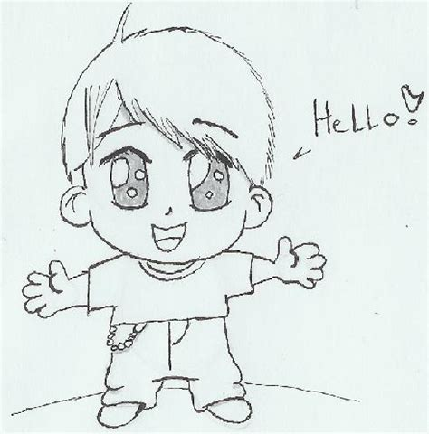 Chibi Boy Picture By Kakashi Hatake Drawingnow How To Draw Chibi Boy