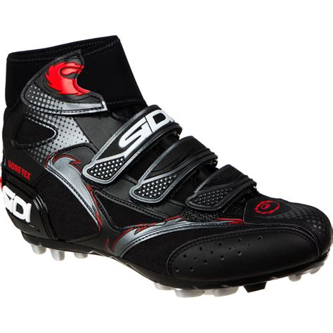 cold weather mountain bike shoes sidi diablo gtx cold weather shoes competitive cyclist