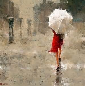 umbrella painting it s my to hold the umbrella araneus1