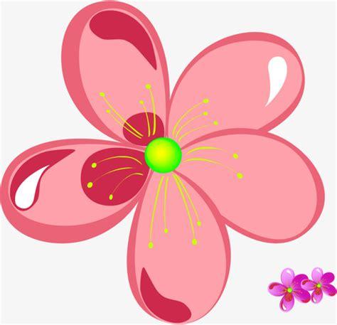 imagenes de flores a color dibujos de flores de color rosa cartoon pink flor