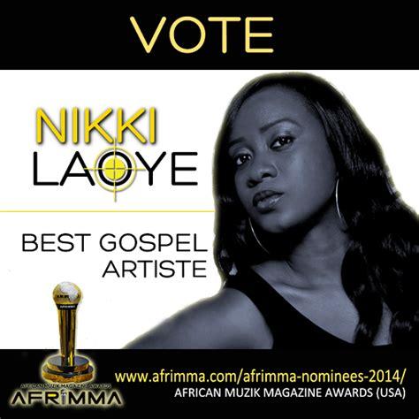 african american gospel magazine nikki laoye nominated for 2014 afrimma african muzik