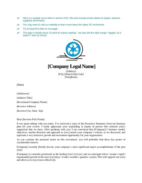 cover letter business plan sle 28 images letter of