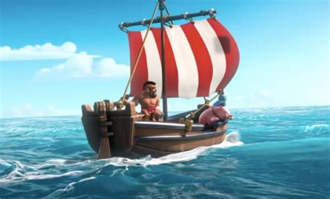 in clash of clans what is the boat for clash of clans boat update download first at release time