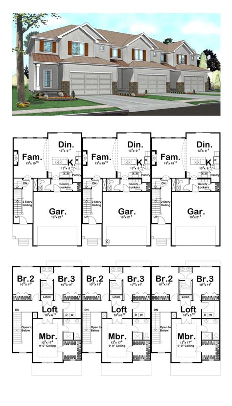 Floor Plans For Duplexes best 25 duplex floor plans ideas on pinterest duplex