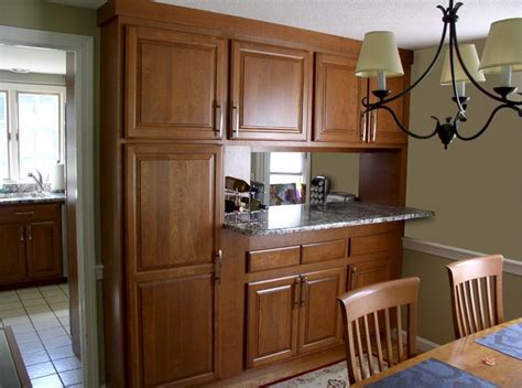 Topsfield Pass Through Kitchen Bar Traditional Dining Kitchen Pass Through Design Pictures