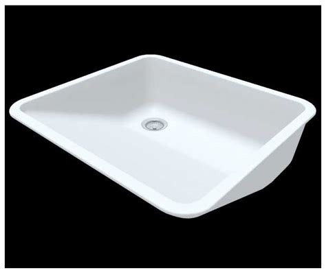 Corian 7722 Sink by Acrylic Polyester Lavatories Delta Plastics