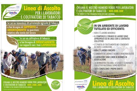 numero verde nazionale lavoro ont organizzazione nazionale tabacco attivato in umbria