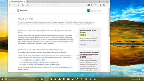 Finders Opt Out Microsoft Uses Your Usage Data To Personalize Ads Here S How To Opt Out Windows Central