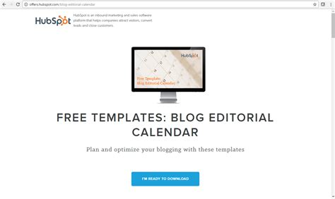 7 Free Tools To Contrive Creative Content Development Ambience Free Hubspot Templates