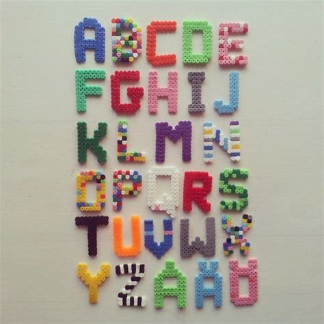 hama bead letter templates 17 best images about fuse letters numbers on pearler patterns and
