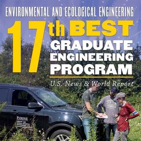 eee graduate program jumps    news world report rankings environmental