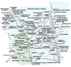 russian river valley california map wine country journeys sonoma wine tour wineries regions