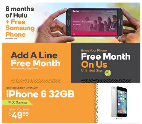boost launches  hulu promo extends  lines