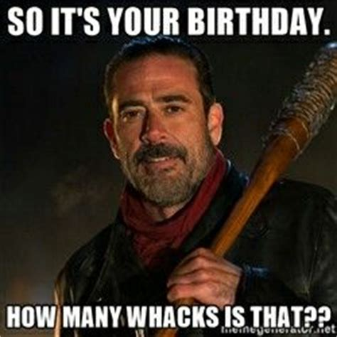 Walking Dead Birthday Meme - best 25 walking dead birthday meme ideas on pinterest