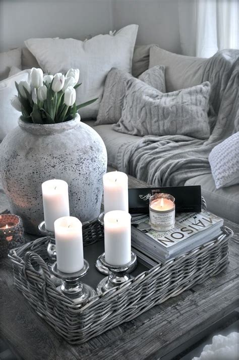 idea de decoracion de sala en tonos grises como