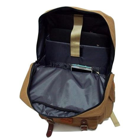 Canvas Tas Ransel Backpack Khaki by Tas Ransel Backpack Gunner Khaki Mall Indonesia