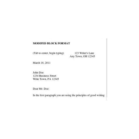 Business Letter Of Complaint Block Style Business Letters Letterhead Styles And Format