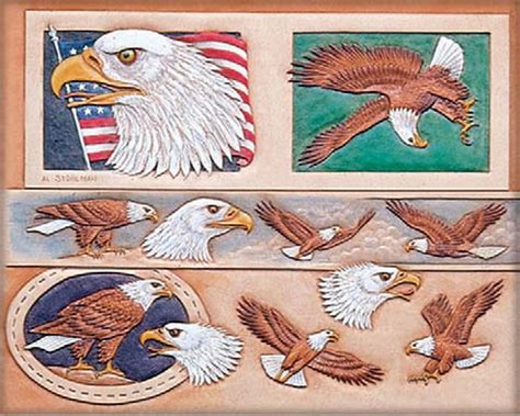 pattern belt of the black eagle craftaids craftaid leathercraft pattern template