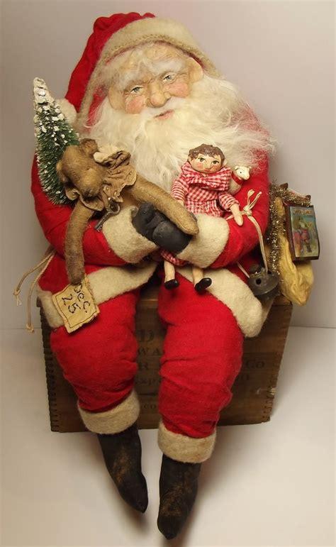Handmade Santa Claus Dolls - 671 best images about primitive santas on