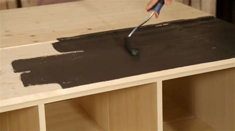 plan de travail cuisine am駻icaine cuisine plan de travail bois diy fabriquer un lot de