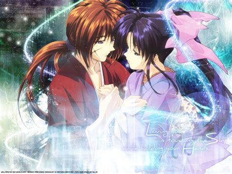 imagenes de anime love kiss anime amor wallpaper