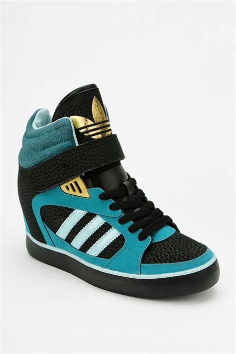 adidas wedge sneakers adidas amberlight wedge high top sneaker