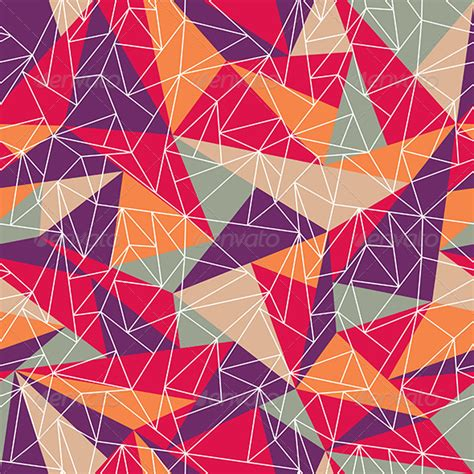 geometric pattern design software abstract geometric colorful pattern by selenamay