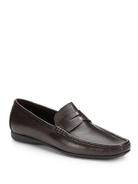 bruno magli mens loafers bruno magli partie loafer in brown for