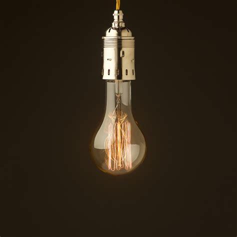 edison style cage l edison light pendant items similar to bare pendant