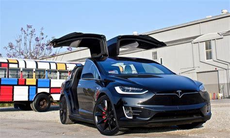 Tesla Wing Doors Tesla Model X Exterior News Teslarati