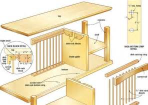 build it yourself plate rack