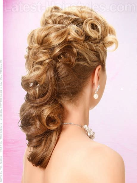 hairstyles to the side for homecoming prom side hairstyles