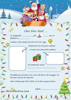 Modèle De Texte De Lettre Au Père Noël No 235 L On