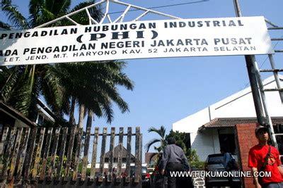 Peradilan Hubungan Industrial tips memililih yurisdiksi pengadilan hubungan industrial
