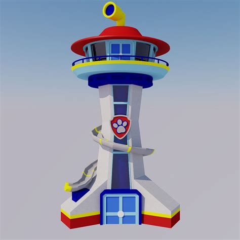 Kinderzimmer Junge Paw Patrol by The Lookout Tower Paw Patrol