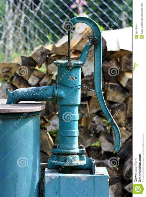 backyard water pump outdoor water pump royalty free stock photo image 28978785