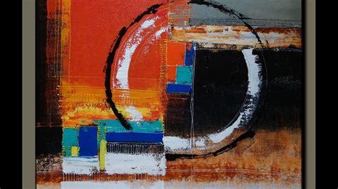acrylic painting demonstration acrylic abstract painting demonstration learn easy and
