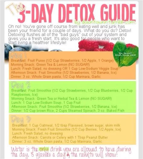 3 Day Detox Reviews Tips by 7 Likes