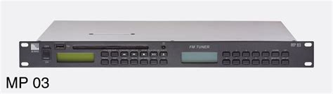 amc live radio player amc mp 03 combination fm tuner cd usb player with 2x unbalanced stereo 2x mono out rs232