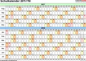 Kalender 2018 Schweiz Querformat Schulkalender 2017 2018 Als Pdf Vorlagen Zum Ausdrucken