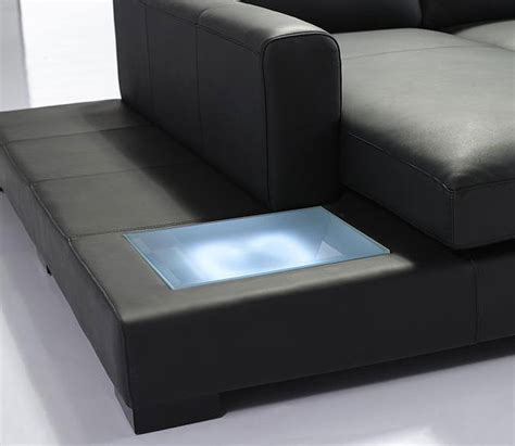 T35 Sectional Sofa Mini T35 Sectional Sofa Black Leather Leather Sectionals